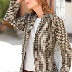Yeni Sezon Bayan Yamalı Ceket Modelleri