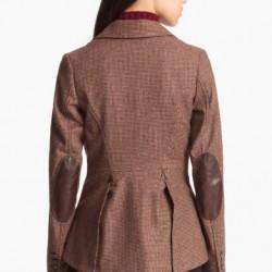 Yeni Sezon Yamalı Bayan Ceket Modelleri