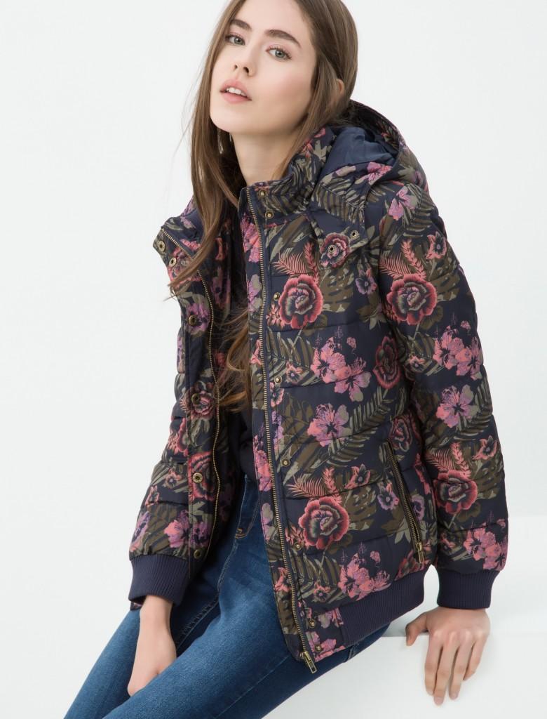 Çiçek Desenli Koton Bayan Mont Modelleri