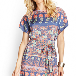 2016 Desenli Elbise Modası