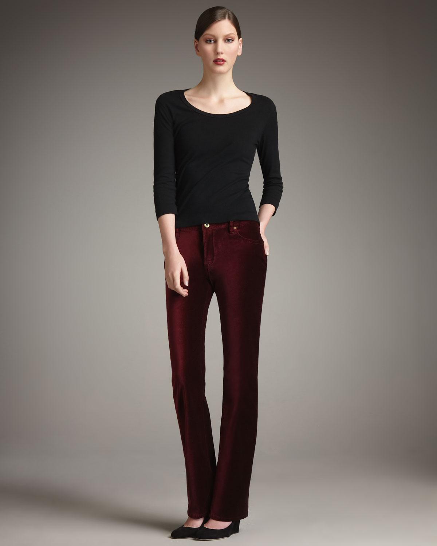 En güzel kadife pantolon modelleri