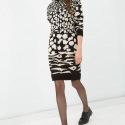 Koton desenli elbise modelleri 2016
