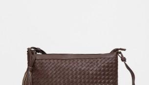 Püskül Detaylı Çok Zarif Koton Çanta Modeli