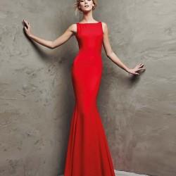En Zarif Kırmızı Abiye Modeli