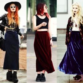 Kadife Etek Modası 2016