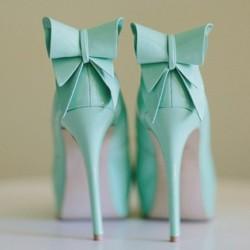 Renkli Topuklu Ayakkabılar