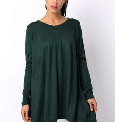 Yeşil Renkli Çok Güzel Tunik Modelleri