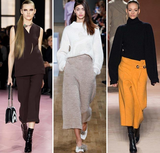 Culotte Pantolon Kombinleri 2016