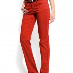 En Güzel Kırmızı Pantolon Kombinleri