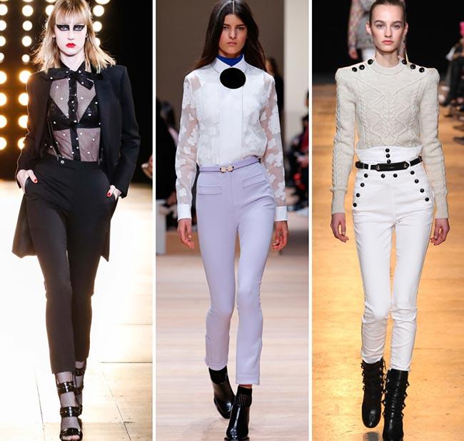 En Moda Yüksek Bel Pantolon Modelleri 2015 2016