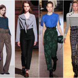 En Tarz Yüksek Bel Pantolon Modelleri