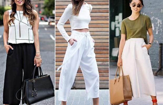 En Yeni Culotte Pantolon Kombinleri