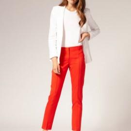 Kırmızı Pantolon Modası 2016