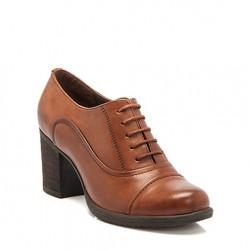 Tergan Bağcıklı Kışlık Bayan Ayakkabı Modelleri
