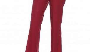 Bordo Renkli Geniş Paça Seçil Store Pantolon Modelleri
