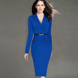 En Güzel Kalem Etek Elbise Modelleri