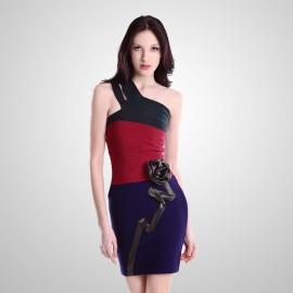 Farklı Renk Cümbüşlerini Bir Araya Getiren Genç Bayan Elbise Modelleir