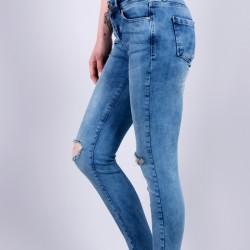 Püskül Paça Jean Modelleri