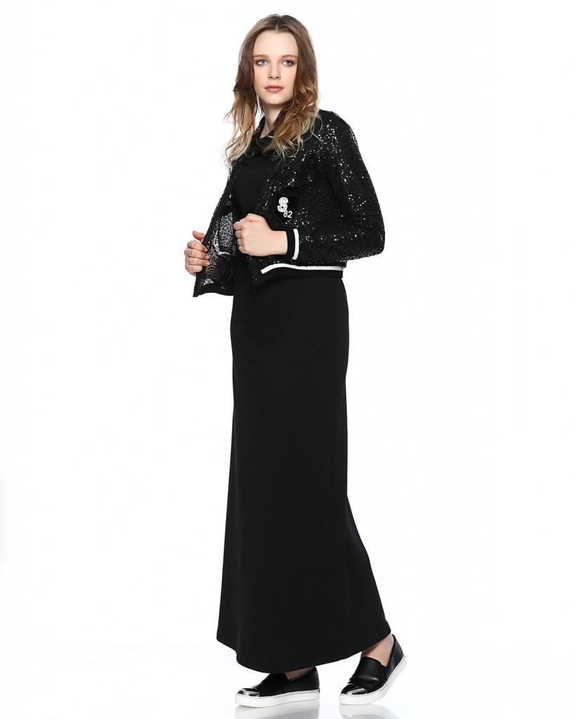 Seçil Store Ceketi Pullu Elbise Modeli 2016