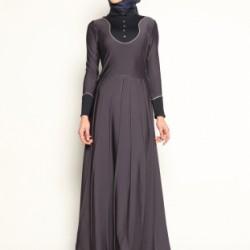 En Güzel Tesettür Kloş Elbise Modelleri 2016