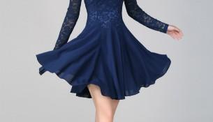 En Zarif Kısa Kloş Elbise Modelleri 2016