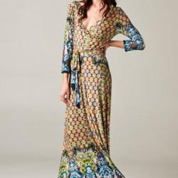 Günlük Giyinilebilecek Uzun Kloş Elbise Modelleri 2016