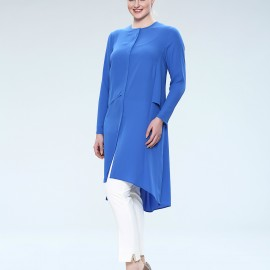 Saks Mavisi Çok Şık Seçil Store Tunik Modelleri