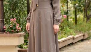 Sefamerve Giyim Tesettür Kloş Elbise Modelleri