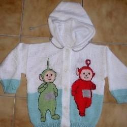 Çok Şık Desenli Bebek Yelekleri