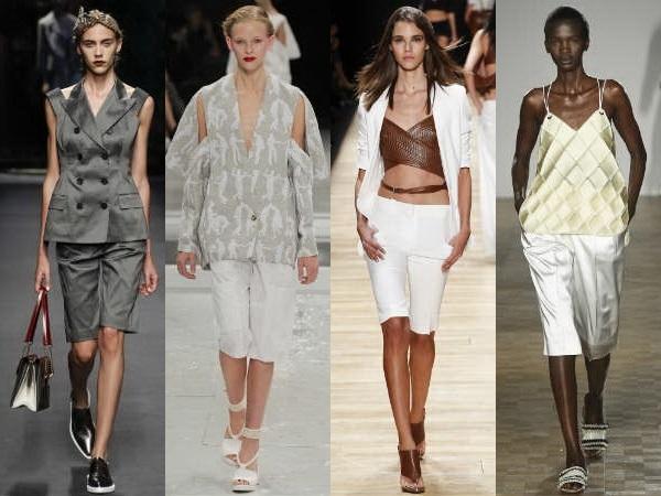 En Moda  Yazlık Bayan Kapri Modelleri 2016