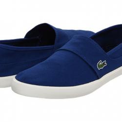 Mavi Renkli Lacoste Bez Ayakkabı Modelleri 2016