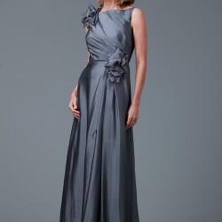 Çiçek Kemerli Anne Elbise Modelleri 2016
