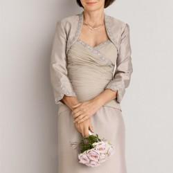 Bolerolu Çok Güzel Anne Elbiseleri