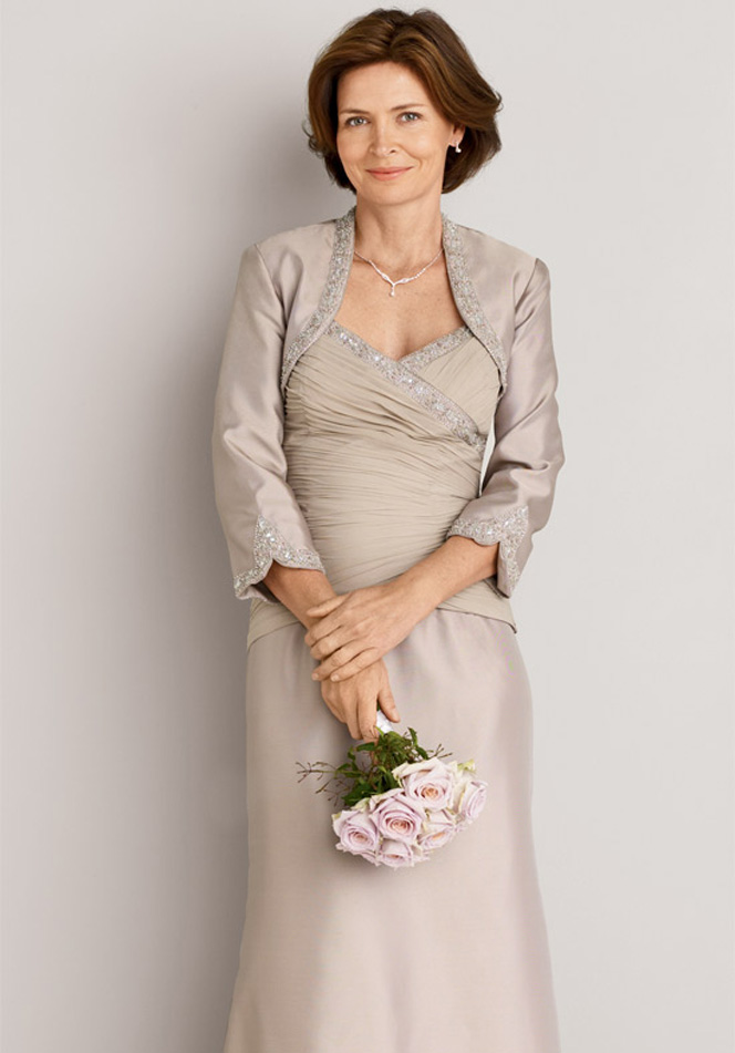 Anne elbise modelleri 2016 elbise for Wedding dress for grooms mother