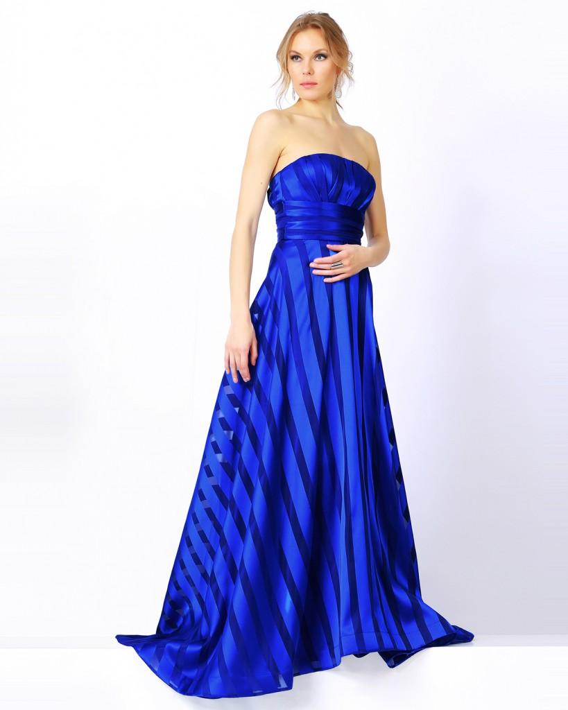 Mavi Renkli En Güzel Seçil Store Abiye Modelleri 2016