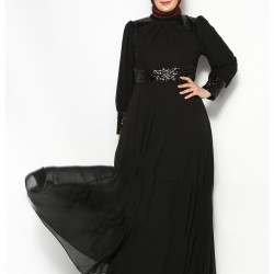 Siyah Kapalı Elbiseler 2016