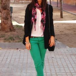 En Güzel Yeşil Pantolon Modelleri 2016