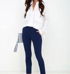 En Tarz Lacivert Pantolon Kombinleri