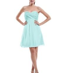 En Yeni Şifon Detaylı Kloş Elbise Modelleri