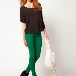 Yeşil Pantolon Kombinleri 2016