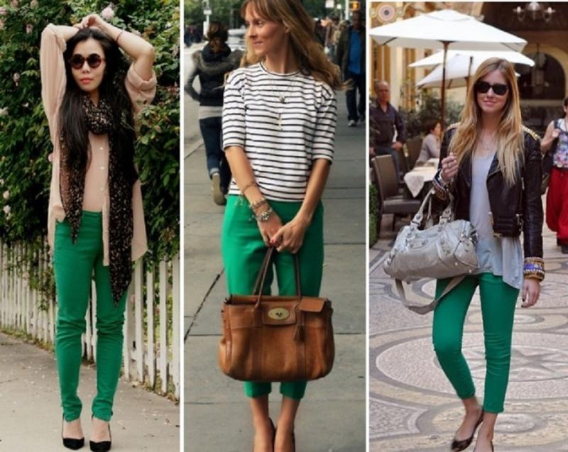 Yeşil Pantolon Modelleri 2016