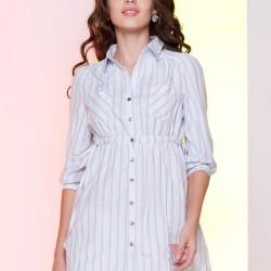 Çizgili Gömlek Tunik Modelleri 2016
