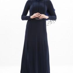 İşlemeli Kemer Detaylı Çok Güzel Yeni Sezon Armine Tesettür Elbise Modelleri 2016