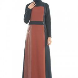 2016 En Yeni 2 Yaka Tesettür Elbise Modelleri