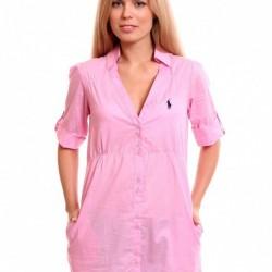 En Zarif Pembe Renkli Gömlek Tunik Modelleri 2016