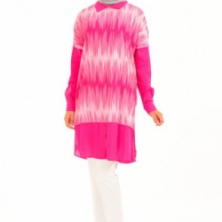 Göz Alıcı Güzellikte 2 Yaka Tunik Modelleri 2016