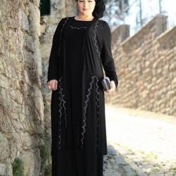 Büyük Beden Tesettür Günlük Elbise Modelleri