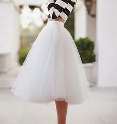 En Moda Tül Etek Modelleri