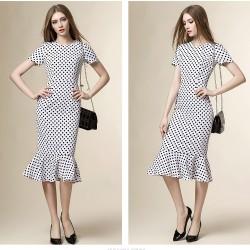 En Tarz Balık Etek Elbise Modelleri