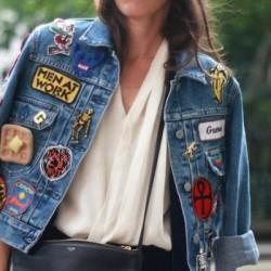 En Yeni Yamalı Ceket Modası